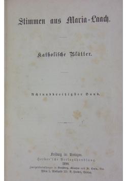 Stimmen aus Maria-Laach: katholische Blätter, 1890 r.