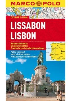 Plan Miasta Marco Polo. Lizbona