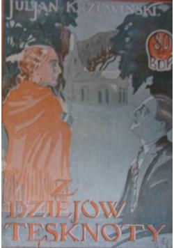 Z dziejów tęsknoty, 1926r.