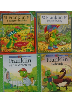 Frankiln ,zestaw 4 książek