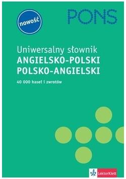 Uniwersalny słownik angielsko- polski/ polsko-angielski