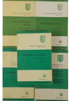 Biblioteka lekarza praktyka, zestaw 5 książek