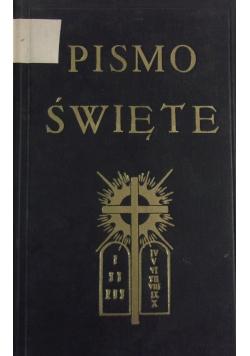 Pismo Święte, Stary Testament, Tom III, 1927r.