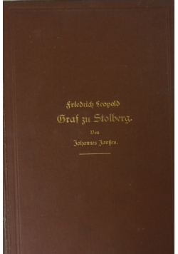 Fredrich Leopold - Graf zu Stolberg, 1882 r.