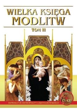 Wielka księga modlitw T.II L + CD wyd.2017