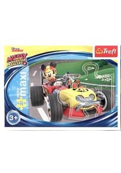 Puzzle 20 miniMaxi - Wyścigi terenowe 1 TREFL