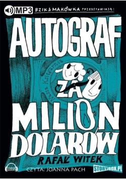 Autograf za milion dolarów audiobook
