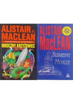 Mroczny krzyżowiec -Bezkresne morze zestaw 2 książek