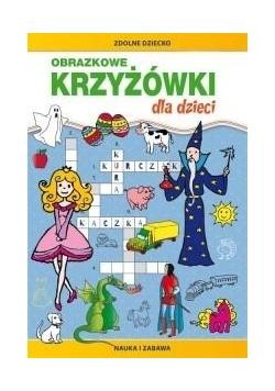 Obrazkowe krzyżówki dla dzieci w.2018