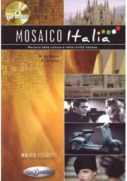 Mosaico Italia książka + płyta CD audio