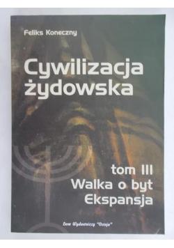 Cywilizacja żydowska, tom III