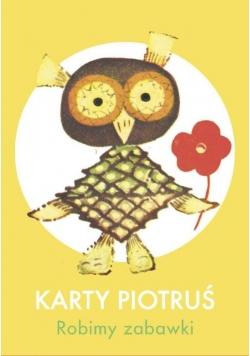 Karty Piotruś - Robimy zabawki