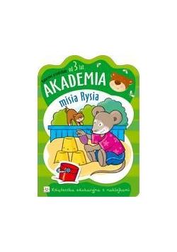 Akademia misia Rysia - od 3 lat