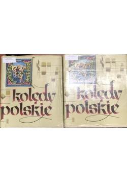 Kolędy Polskie, tom I-II+płyta winylowa