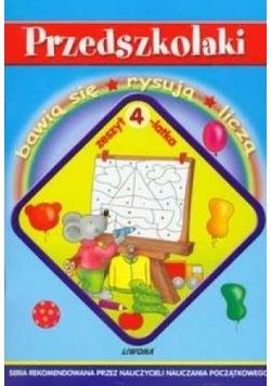 Przedszkolaki - zeszyt 4-latka  LIWONA