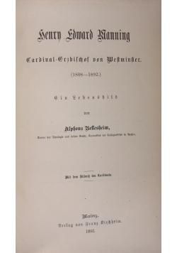 Bellesheim Henry Edward Manning, 1892 r.