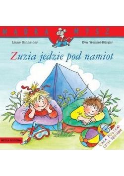 Mądra mysz - Zuzia jedzie pod namiot