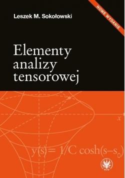 Elementy analizy tensorowej