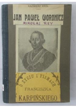 Jan Paweł Woronicz, 1919 r.