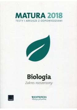 Matura 2018 Biologia Testy i arkusze z odpowiedziami Zakres rozszerzony