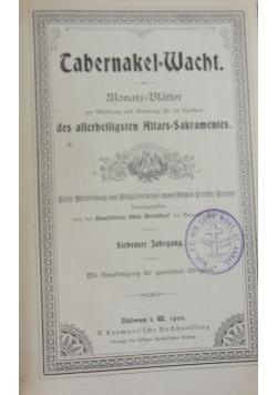 Tabernakel-Wacht.  Manats-Blätter, 1903 r.