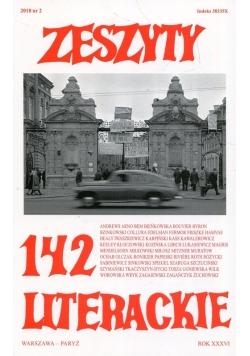 Zeszyty literackie 142/2/2018