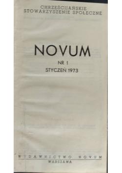 Novum nr.1-12 1973r.