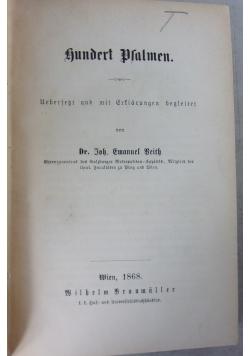 Hundert Psalmen, 1868