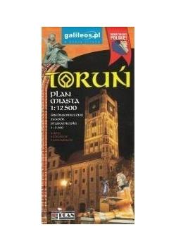 Plan miasta - Toruń 1:12 500
