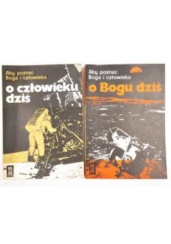 O Bogu dziś/O człowieku dziś, 2 książki