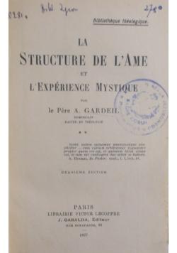 La Structure De Lame , 1927 r.