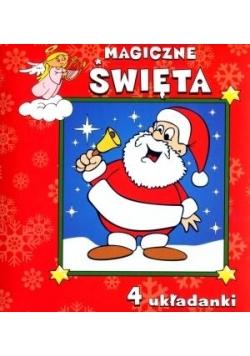 Magiczne Święta. 4 układanki