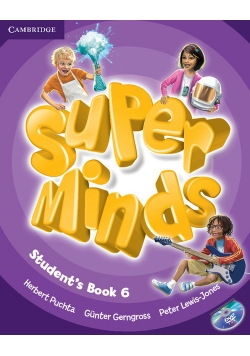 Super Minds 6 Student's Book + DVD