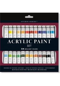 Farby Akrylowe 24 kolory