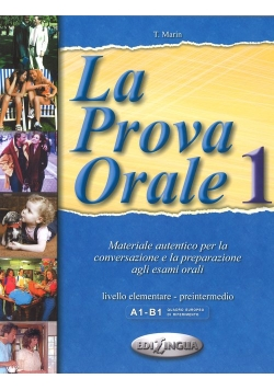 Prova Orale 1 Podręcznik elementare - pre-intermedio