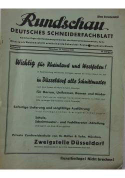 Rundschau deutsches schneiderfachblatt