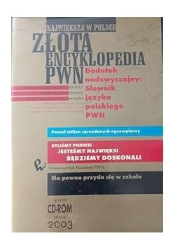 Największa w Polsce złota encyklopedia PWN, zestaw 3 płyt,płyta DVD