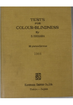 Tests for colour- blindness