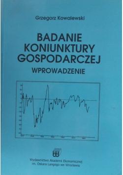 Badania koniunktury gospodarczej