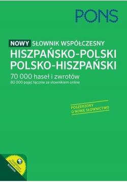 PONS Nowy słownik współczesny hiszpańsko-polski, polsko-hiszpański