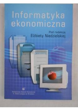 Niedzielska Elżbieta (red.) - Informatyka ekonomiczna