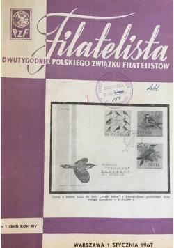 Filatelista. Dwutygodnik Polskiego Związku Filatelistów
