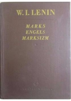Marks Engels Marksizm,1949r.