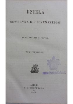 Dzieła Tom 1, 1870r