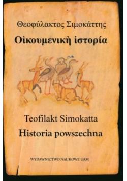 Teofilakt Simokatta Historia powszechna