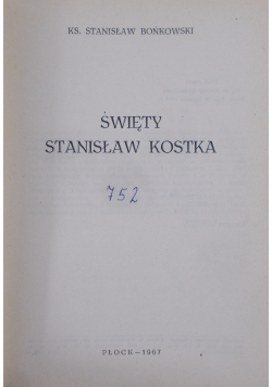 Swięty Stanisław Kostka