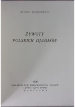 Żywoty Polskich Diabłów,1930r.
