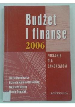 Budżet i finanse 2006