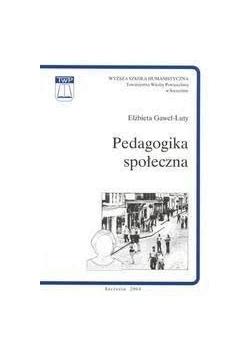 Pedagogika społeczna