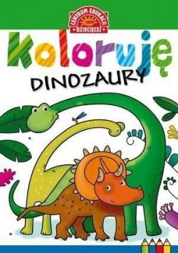 Koloruję. Dinozaury